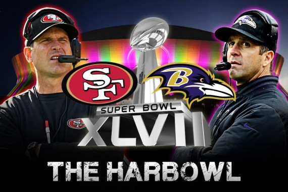 It's brother versus brother in the first ever sibling Super Bowl