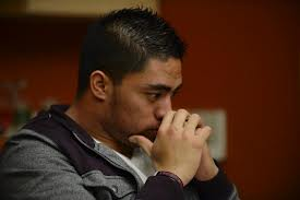 Manti Te'o like most of the country don't know what to say about the hoax