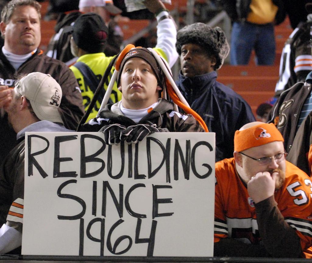 Cleveland is still waiting for their championship
