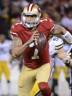 Running and passing Kaepernick leads the multi-dimensional 49ers attack