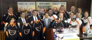 The Phantoms will have a new look in 2014 too