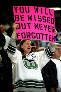 Whalers fans still miss their beloved team