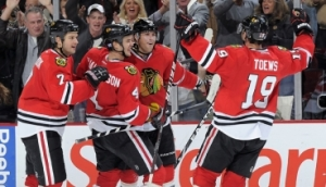 Blackhawk up Chicago has dominated the NHL in 2013
