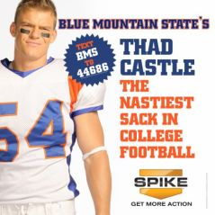 Thad don't hit the quarterback in practice!