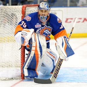 Rick Dipietro has returned to Bridgeport to try to restart his once promising career