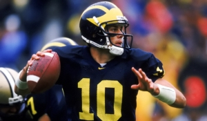 While he may not have had the best stats at Michigan Brady was clutch