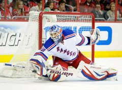 Lundqvist is the rock the Rangers need to win their first cup since 94