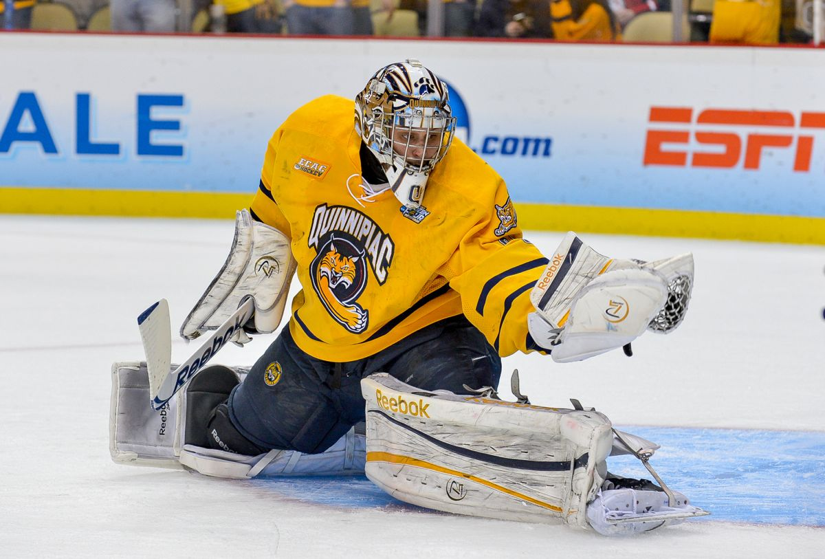 620df93d8 Quinnipiac hockey makes a statement on the ice with some of the best jerseys  in college