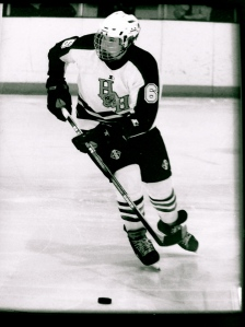 Ice Hockey was my passion. When it was taken from me I didn't know what to do