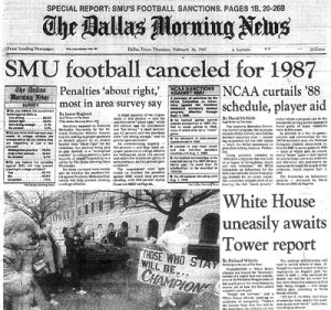 The legacy of SMU still lingers, especially with all the corruption that still surrounds college football