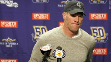 We've all been down this road before, don't be surprised if we see Favre again