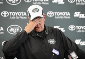 The hot seat is heating up for Rex Ryan