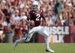 Johnny Football will be the first player off the board