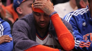 Melo's frustration in New York might make him go somewhere else this summer