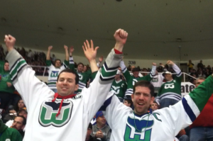 Fans? The Whalers still have a great following
