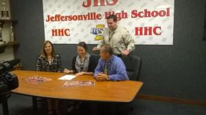 Shelby signs here letter of intent