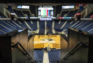The XL Center in it's current state