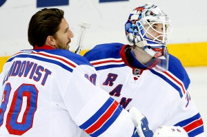 If Lundqvist struggles should the Rangers stick with the King or ride the hot hand in Talbot ?