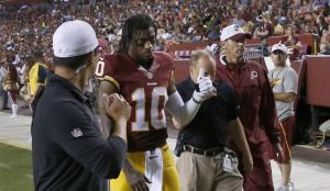 For RG III, his run in Washington could be coming to an end.